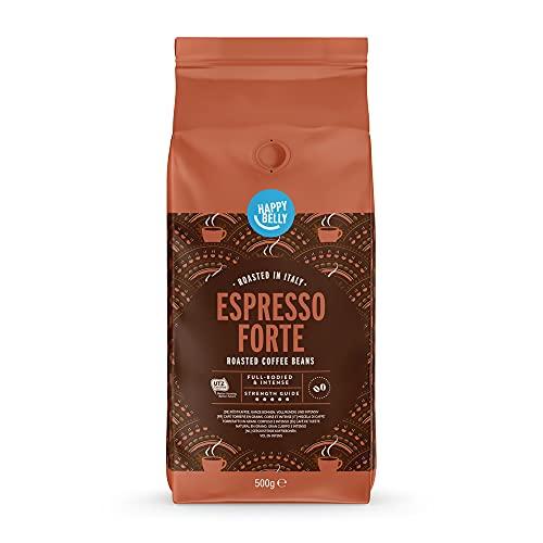 Amazon-Marke: Happy Belly Röstkaffee, ganze Bohnen