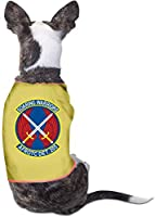 Soaring Warriors Afrotc Det Fashion Pet Clothes Dog Shirt for Cats and Small Dog Cat Vest Clothes Puppy Cosmetics-Yellow-L