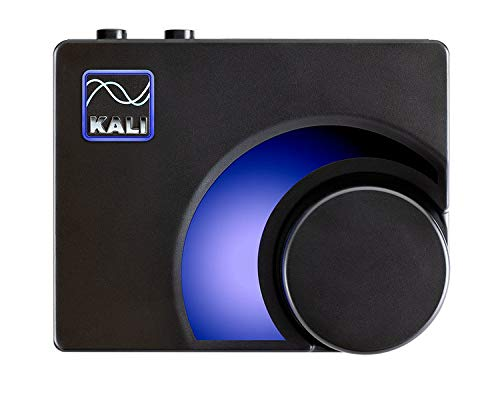 Kali Audio MV-BT Professional Monitor Controller & Ricevitore Bluetooth - Trasmettitore audio senza fili (adattatore Bluetooth, XLR / 6,3 mm Jack Stereo Output, LED Meter) nero