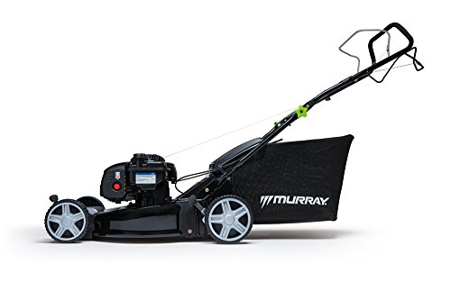 Murray EQ500 EQ 500 EQ500-18/46 cm self-propelled Walk Behind Mower with Briggs & Stratton 500E Series Petrol Engine, Grey