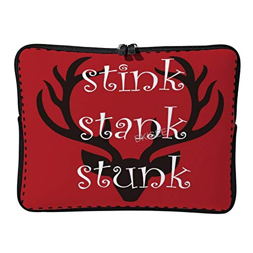 Lplpol Stink Stank Stunk Laptop Sleeve for Women Men, Compatible with 13 Inch MacBook Air/MacBook Pro Notebook Two-way Zippers Laptop Carrying Bag Case Cover