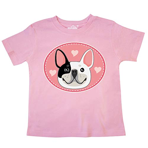 inktastic French Bulldog Dog Toddler T-Shirt 5-6 Pink 360c3