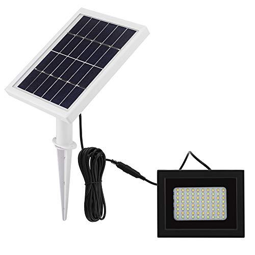 Luces Solares Light Solar 80 LED Servidor DE Potencia Servicio Sensor DE LUZ DE LUZ DE Movimiento Activado LÁMPARA DE PANTALÍA DE JARDÍN Anterior 2 Color con Control