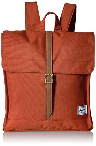 Herschel City Rucksack, Red Picante Crosshatch, Mid-Volume 14.0L