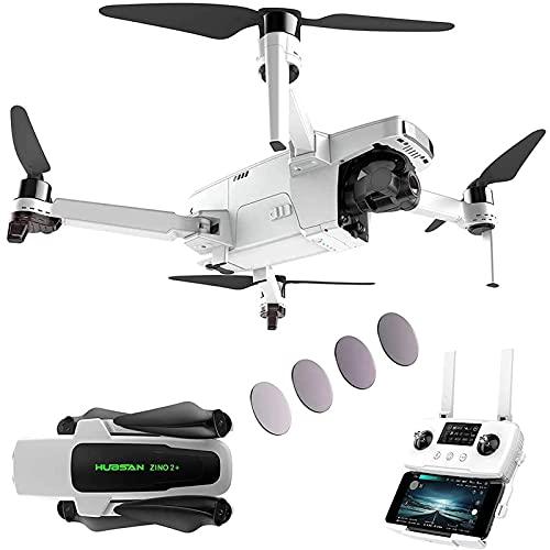GZTYLQQ Fotocamera Drone 4K 60fps con Giunto cardanico a 3 Assi, Quadcopter RC Video in Diretta FPV GPS per Adulti, Trasmissione Syncleas a 9 km, Ritorno Automatico a casa, 35 Minuti di Volo, 3 Batt