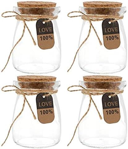 XXXXW Airtight Jar 10pcs 100ml Milk Glass Weekly update Max 61% OFF Resistant Heat Bottles