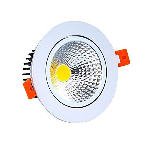 MAONB COB-reflectoren, embedded led voor inbouw in woon- en winkels, kleding, 3 W, 5 W, 7 W, 10 W, plafondverlichting voor navissen, balkon, hal, downlight plafond