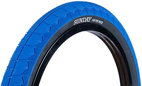 SUNDAY BIKES Current 20 V2 BMX banden - 20 inch | blauw/zwart | 2,40 inch