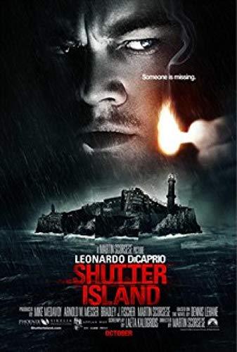 DSFJK Film Shutter Island Poster Wanddekoration Raummalerei 50x75cm