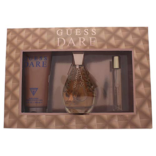 Guess Dare by Guess for Women - 3 Pc Gift Set 3.4Oz Edt Spray, 0.5Oz Edt Spray, 6.7Oz Body Lotion