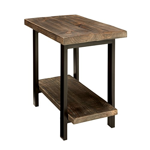 Alaterre Sonoma End Table, Brown