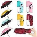 SNEHERI Sun and Rain Waterproof Ultra Portable Protective Mini Travel UV Umbrella