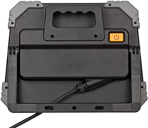 Brennenstuhl Mobiler LED Strahler DINORA 5000 / LED Baustrahler für den ständigen Einsatz im Außenbereich (LED Arbeitsstrahler 47W, 5m Kabel, IP65, bruch- und schlagfestes Kunststoffgehäuse) - 2