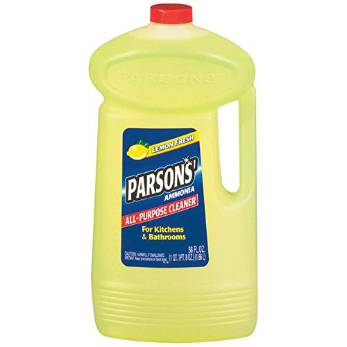 Parsons Ammonia All-Purpose Cleaner, Lemon, 56 oz (2 Pack)