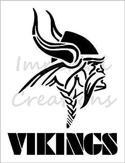 MINNESOTA VIKINGS Football Team 8.5