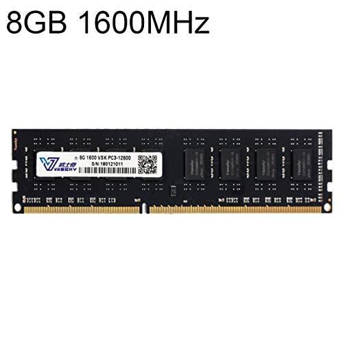 Sevenplusone Licht en mooi, gemakkelijk te dragen. 8GB 1600 MHz PC3-12800 DDR3 PC Memory RAM Module voor Desktop, Een verscheidenheid aan testsessies, strikte controle