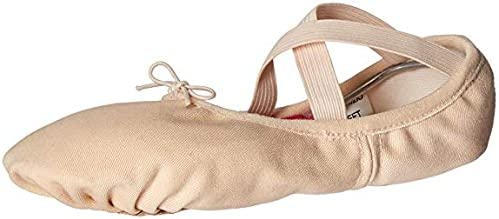 Body Wrappers Womens BALLET SLIPPER WENDY (246A)-PEACH-5.5