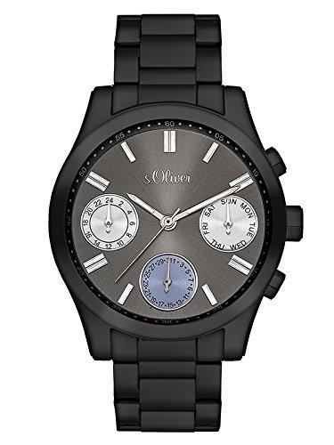 s.Oliver Time Damen-Armbanduhr SO-3310-MM