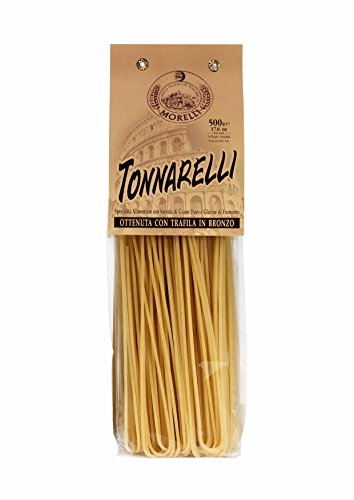 Antico Pastificio Toscano MORELLI - Spaghettoni Tonnarelli - Pacco da 2 Confezioni (2 x 500gr)