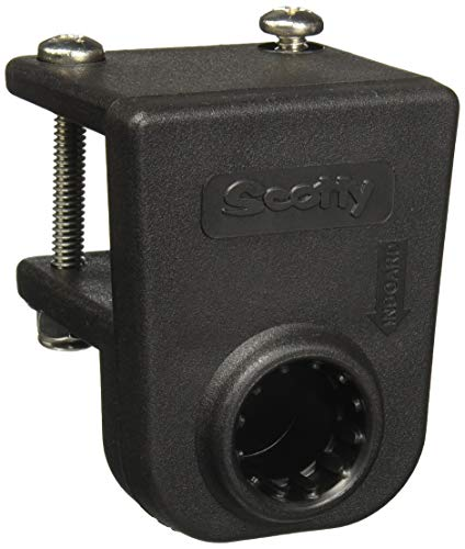 Scotty #243-BK Square Rail Mount