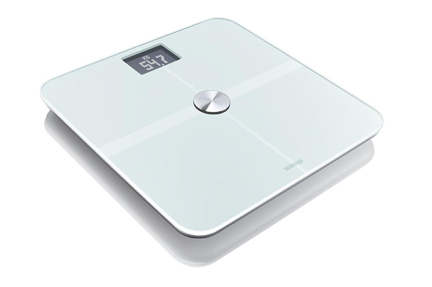 Covia ネットワーク対応 超薄型多機能体重計 <WiFi Body Scale> ホワイト twitter連動機能 データ自動記録 WBS01-W