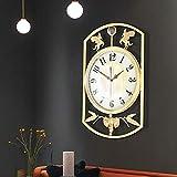 Orologio da parete, orologio da appendere dalla forma unica per la decorazione della parete
