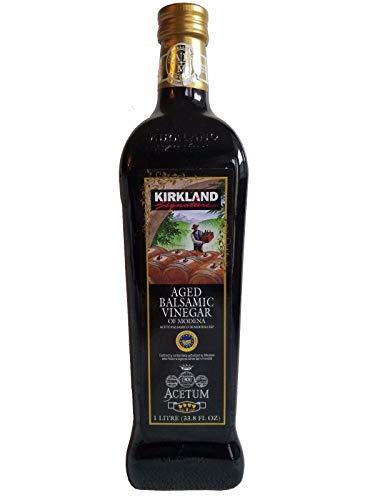 Kirkland Signature Aged Balsamic Vinegar, 1-liter (33.8 Fl Oz.) (1 Bottle)