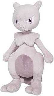 Sanei Pokemon All Star Collection Mewtwo Stuffed Plush Toy, 10