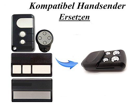 Kompatibel mit Chamberlain Motorlift 84330EML, 84333EML, 84334EML, 84335EML, 94335EML Garagentor Sender Ersatz, 4 Kanal Handsender ml 500/750 Fernbedienung