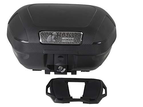 H&B Motorradtopcase Orbit 54 Topcase 54 Liter Stauraum, Unisex, Tourer, Ganzjährig, Kunststoff, schwarz