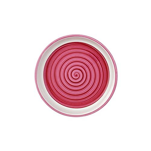 Villeroy & Boch Clever Cooking Rose Plat de service rond, 17 cm, Porcelaine Premium, Rose