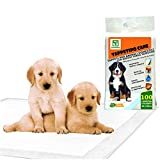 Totò Piccinni Tappetini Igienici per Cani Animali domestici SUPER Assorbenti Antiodore Adesivi 60X90 (100 Traversine)