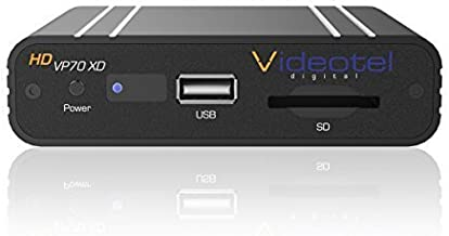 VP70 XD Premium Industrial Grade Auto Looping Digital Signage Media Player for Rugged use. Auto On, Auto Play & Auto Seamless Loops Video Files, or Picture Files. Proven Lifespan of 5+ Years