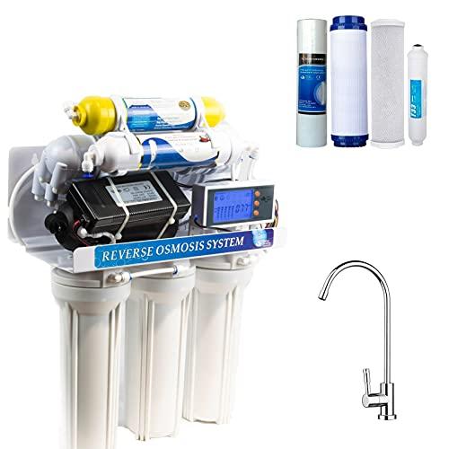 DC Solution | Depuratore Acqua Osmosi Inversa 7 Stadi filtri | DC-RO3007 Purificatore domestico acqua potabile dal rubinetto di casa