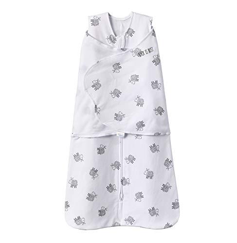 HALO 100% Cotton Sleepsack Swaddle Wearable Blanket, Lamb Scribble, Small