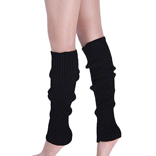 Tosonse Boot Cuffs Warmer Knit Leg Calcetines Para Mujer Medias Calcetines De Compresión
