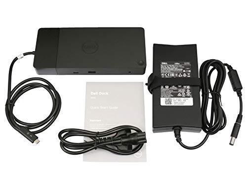 Dell WD19 USB-C port replikator incl. 130W ac-adapter suitable Latitude 13 (3390) series