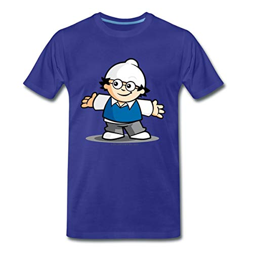 Mainzelmännchen Det Männer Premium T-Shirt, M, Königsblau