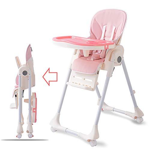 MHO Multifunctionele Draagbare Opvouwbare Baby Kinderstoelen Met Lade Children's Eettafel Baby Eetstoel Hoge Stoel