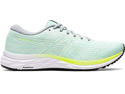 ASICS Women's Gel-Excite 7 Running Shoes, 7.5M, Mint Tint/White
