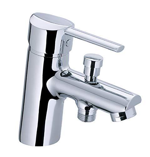 Grifo monomando de bañera-ducha KYNES 1 agujero cromado