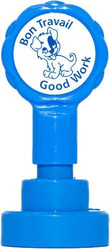 Xclamations X11963 Tampon Auto-encreur pour Enseignant Bon travail Couleur Alétoire