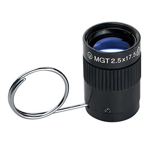 EBILUN Telescopio monocular, mini llavero de bolsillo para senderismo, camping, deportes