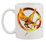 NoMoreFamous The Hunger Games Golden Eagle Art Mug CupCaffè Tazza Coffee