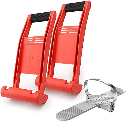 Panel Carrying Tools, Enpoint 2pcs Plywood Carriers + Drywall Foot...