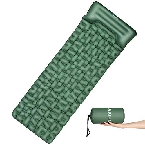 OMORC Camping Isomatte Outdoor, Ultraleicht Luftmatratze 199 * 70 * 6cm, Einzelne Schlafmatte - Aufblasbare Camping Matratze für Wandern Backpacking Camping Strand Reise