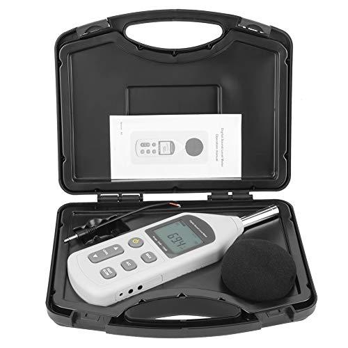 Fonometro digitale, fonometro digitale portatile LCD GM1357 per il monitoraggio dei livelli...