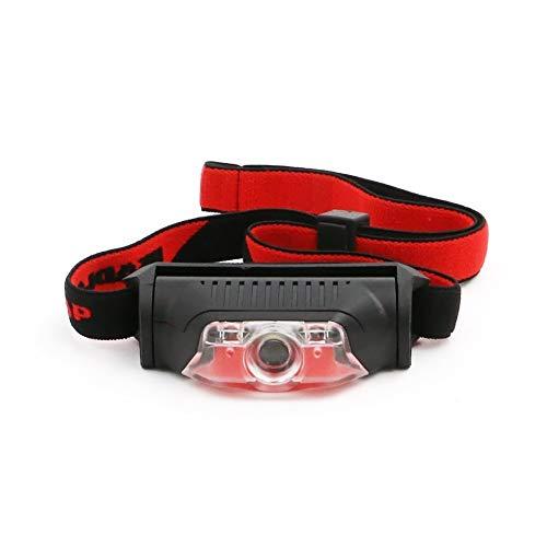 HSZH Scheinwerfer 4 modi wasserdicht 1 * xpe weiß + 2 * led rot Taschenlampe Scheinwerfer Taschenlampe lanterna mit Stirnband