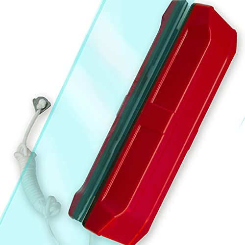 Limpia Cristales Ventanas Magnetico Aparato Limpiacristales Para Limpiar Interior Exterior de Vidrios Doble o Simple Iman magnético Vidrio 8-15 mm (Ventanas Acristalamiento doble 8-15 mm)