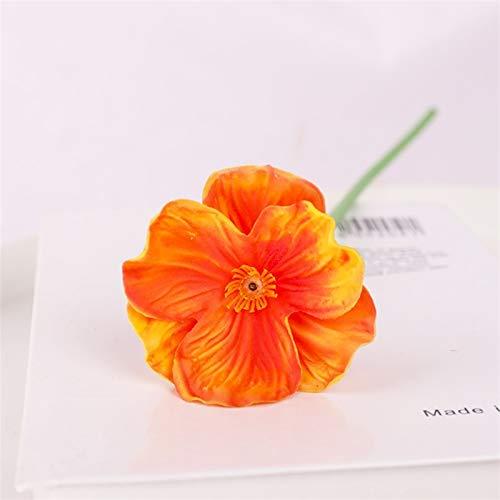 PPLAX 5 Piezas de Flor Artificial Ramo de Bodas para el hogar...